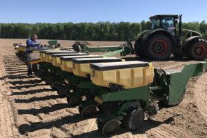 ООО ИПА «Отбор» проводит агросопровождение от посева до уборки урожая